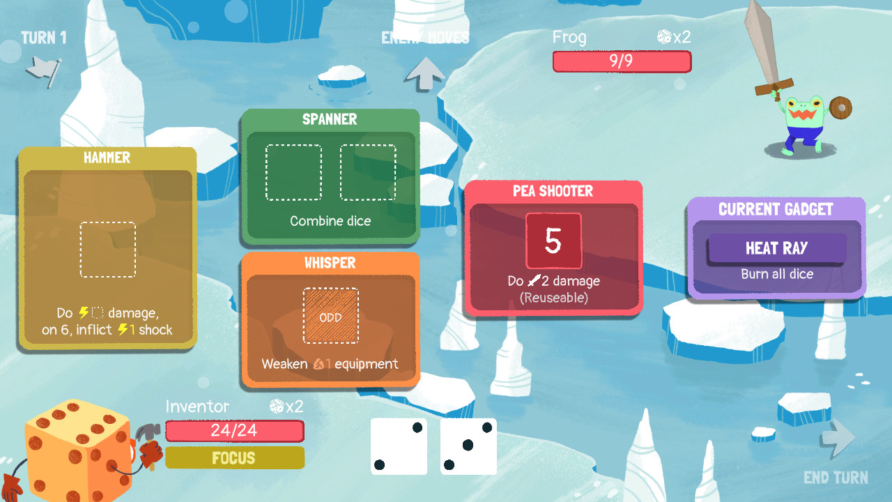 Dicey Dungeons screenshot