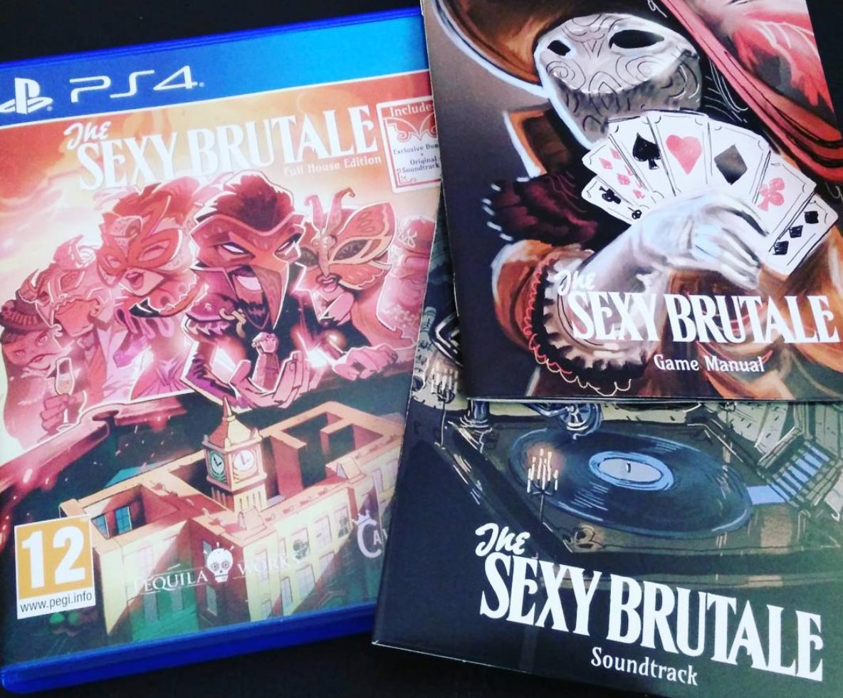 The Sexy Brutale packaging